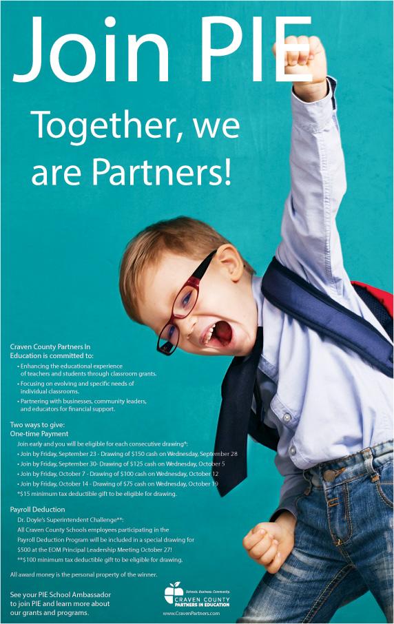 Join Pie Poster website