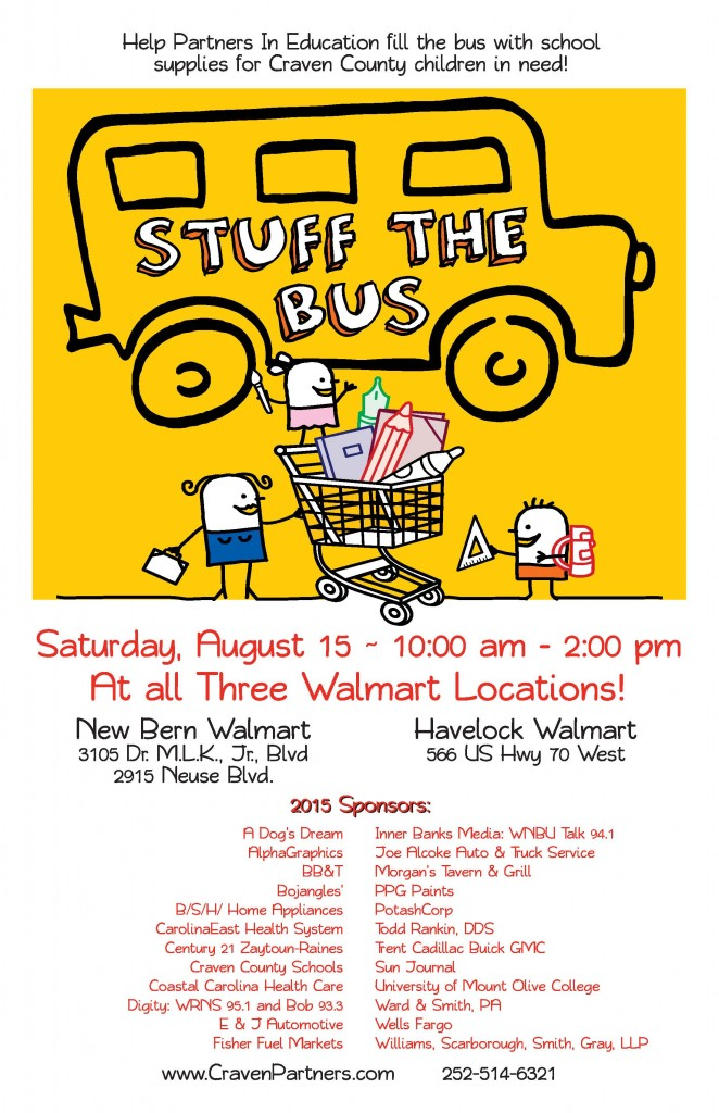 Stuff the Bus 2015 Poster